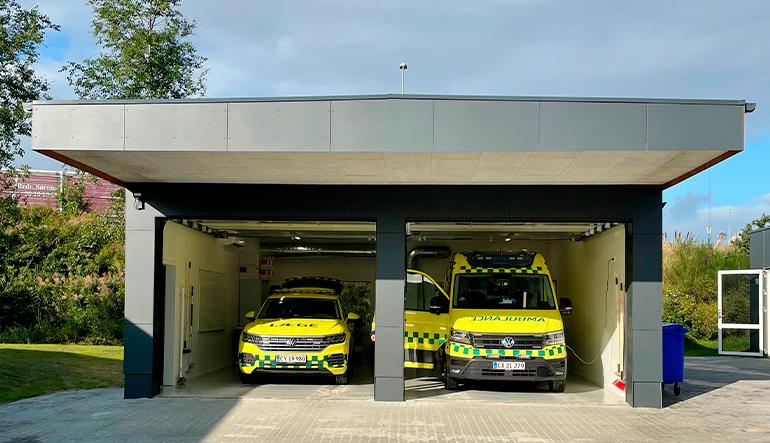 Ambulancebase, Herning